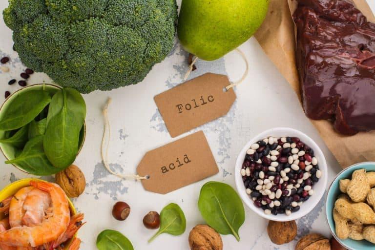 Alimentos ricos en ácido fólico juntos