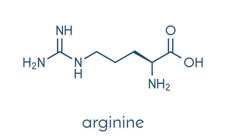 Molécula arginina