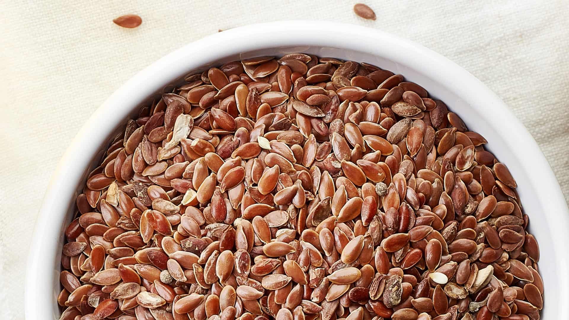 Como se usa la semilla de lino para adelgazar