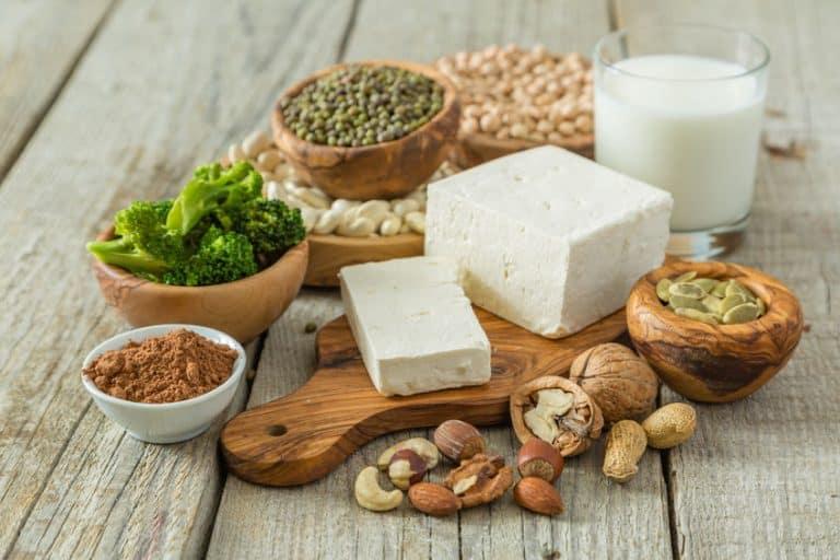 Fuentes de proteína vegana