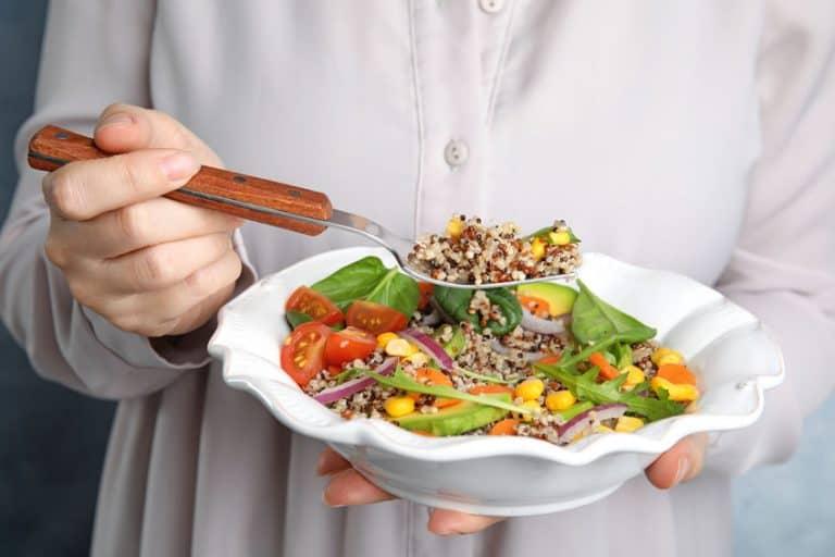 Manera de comer quinoa