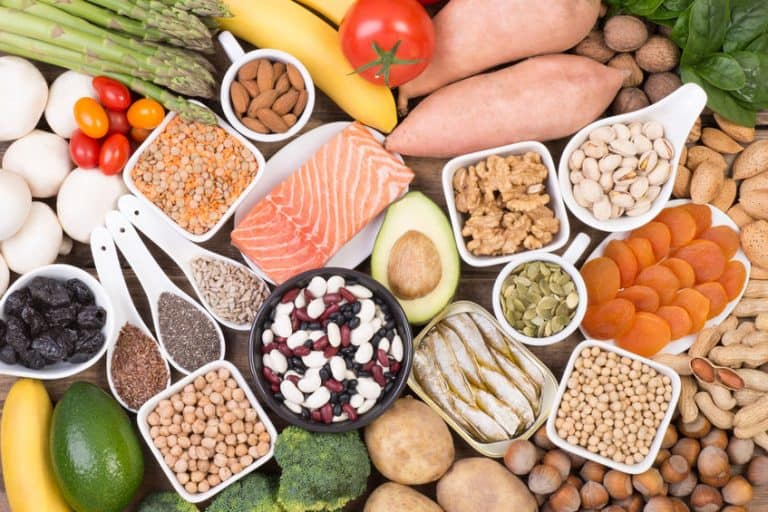 Fuentes de minerales y proteínas