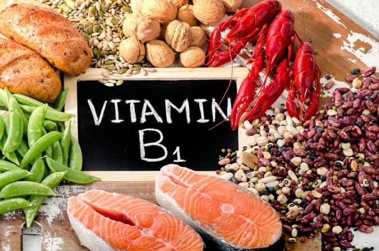 Vitamina B1 destacada