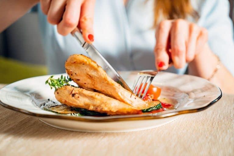 Filete de pollo asado