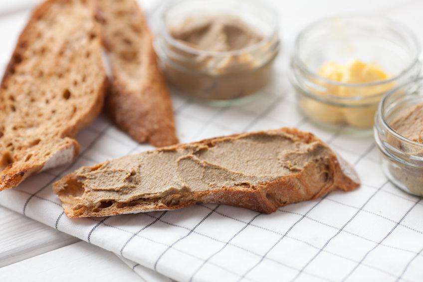 Pan con paté
