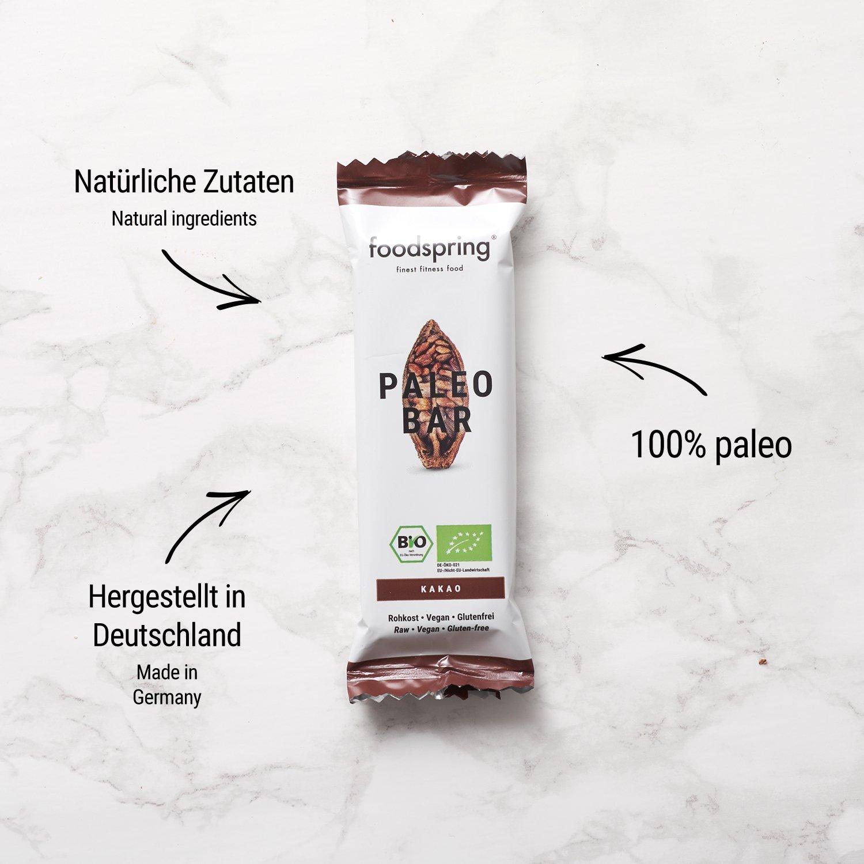 Paleo Bar, Mix de 12 barritas orgánicas