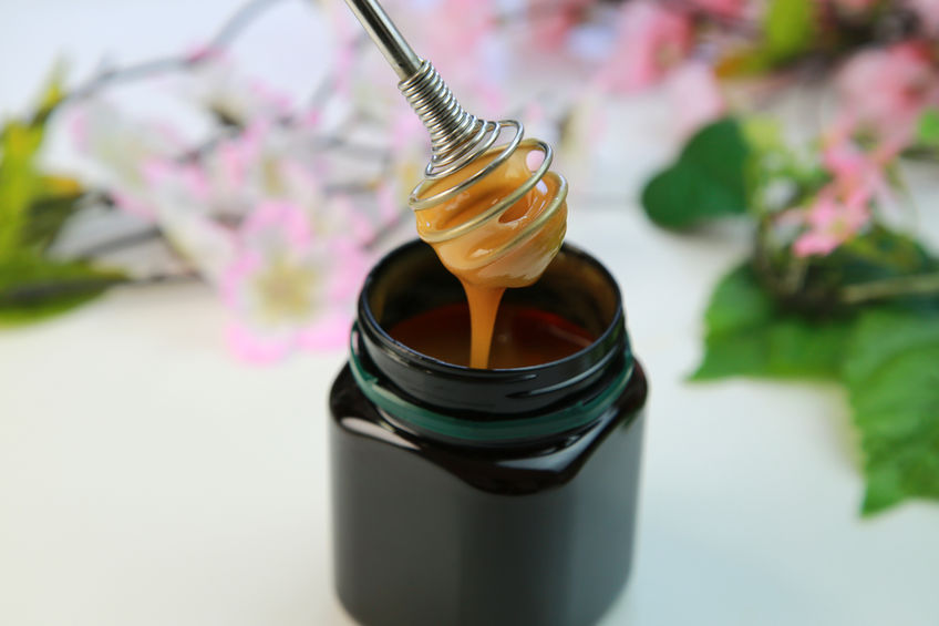 miel de manuka en envase