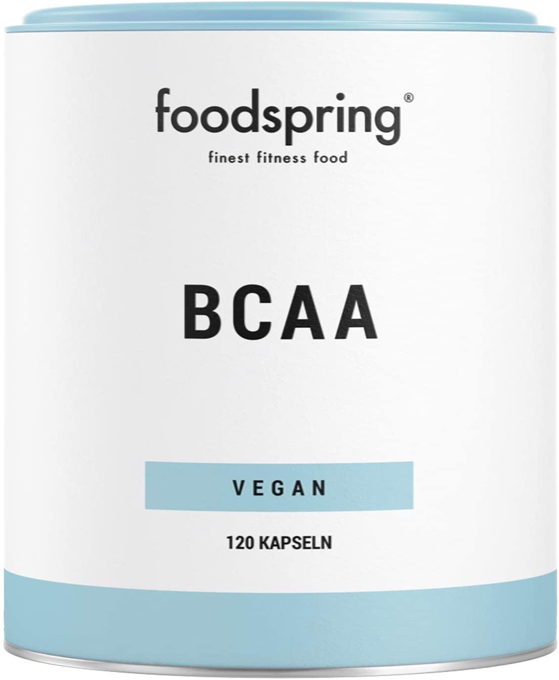 Cápsulas de BCAA de Foodspring