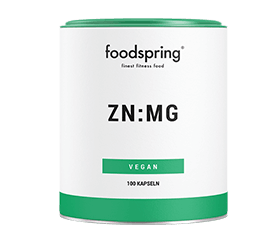 Cápsulas de Magnesio y Zinc de Foodspring