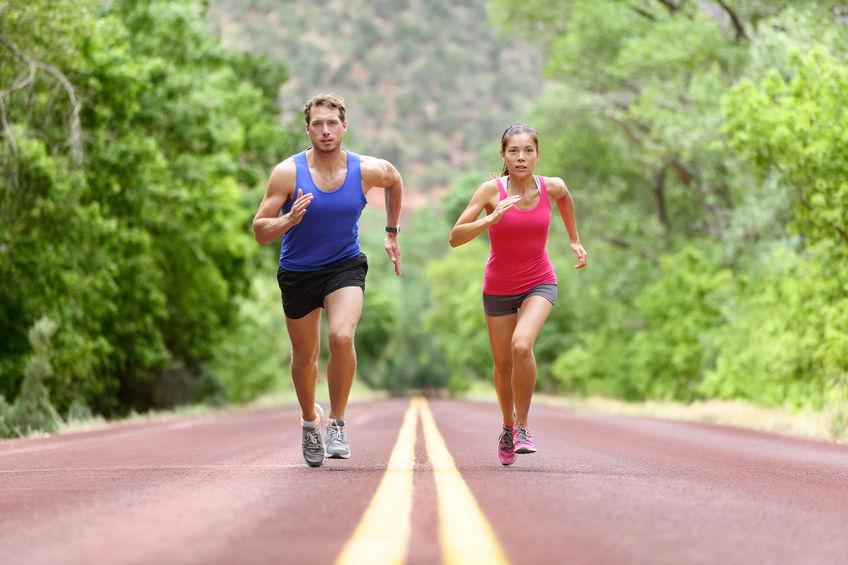 pareja runner